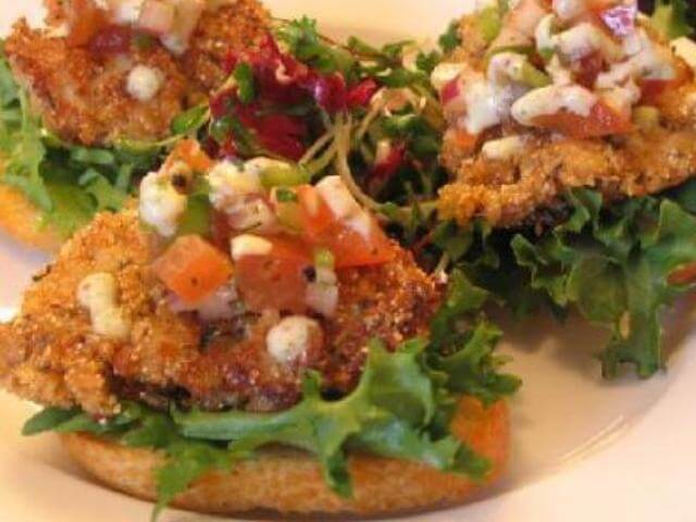 Fried Oysters with Buttermilk Remoulade