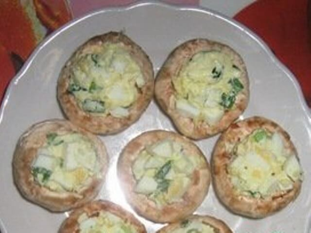 Hot Stuffed Mushrooms Photo 6
