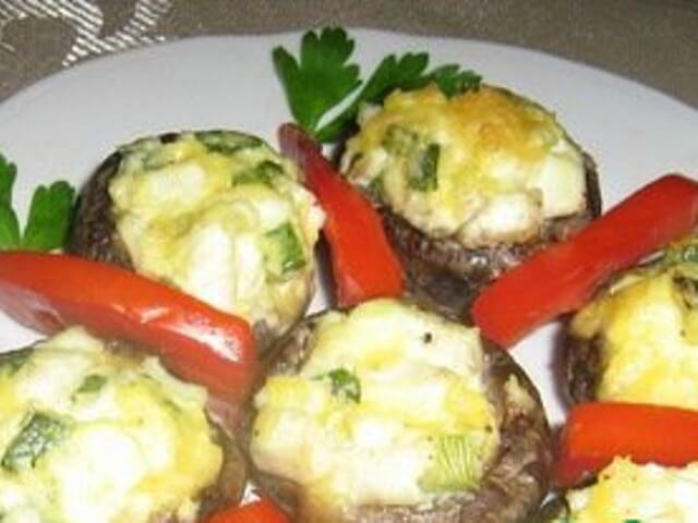 Hot Stuffed Mushrooms Photo 1