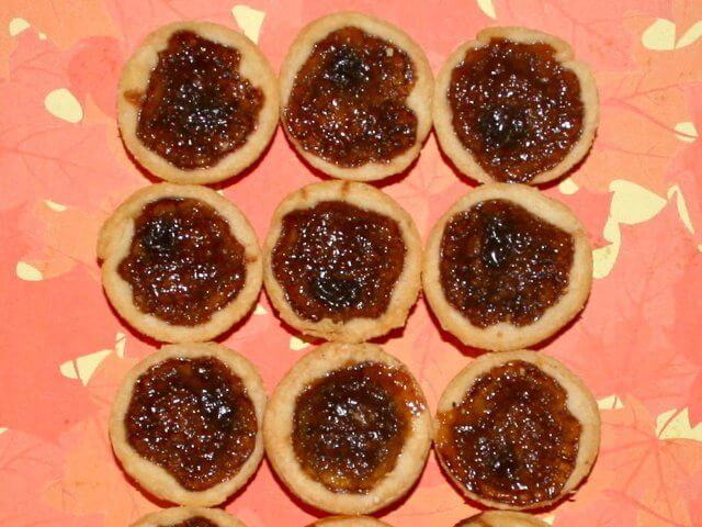 Mini Tarts with Maple Butter Photo 7