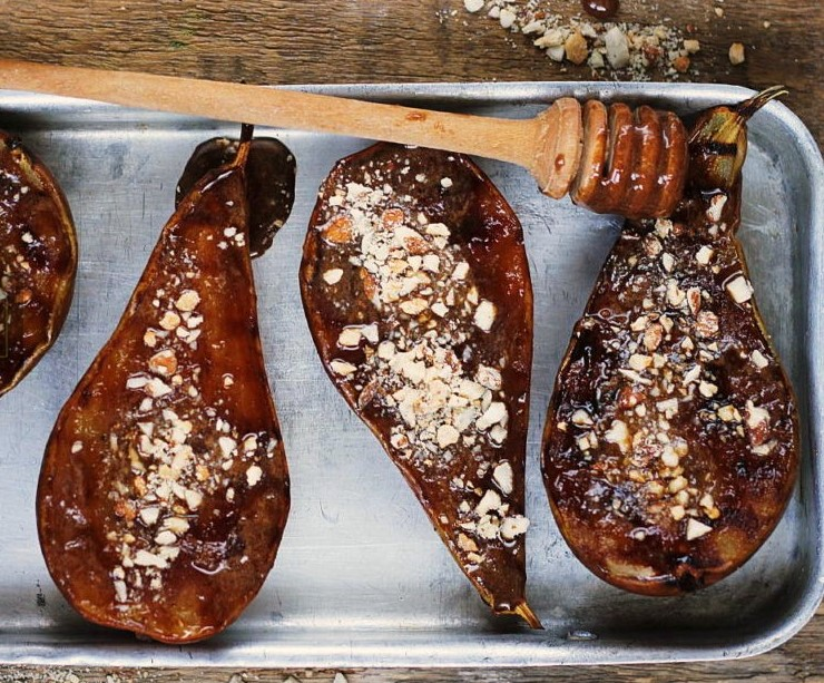 Grilled Honey Pears Photo 6