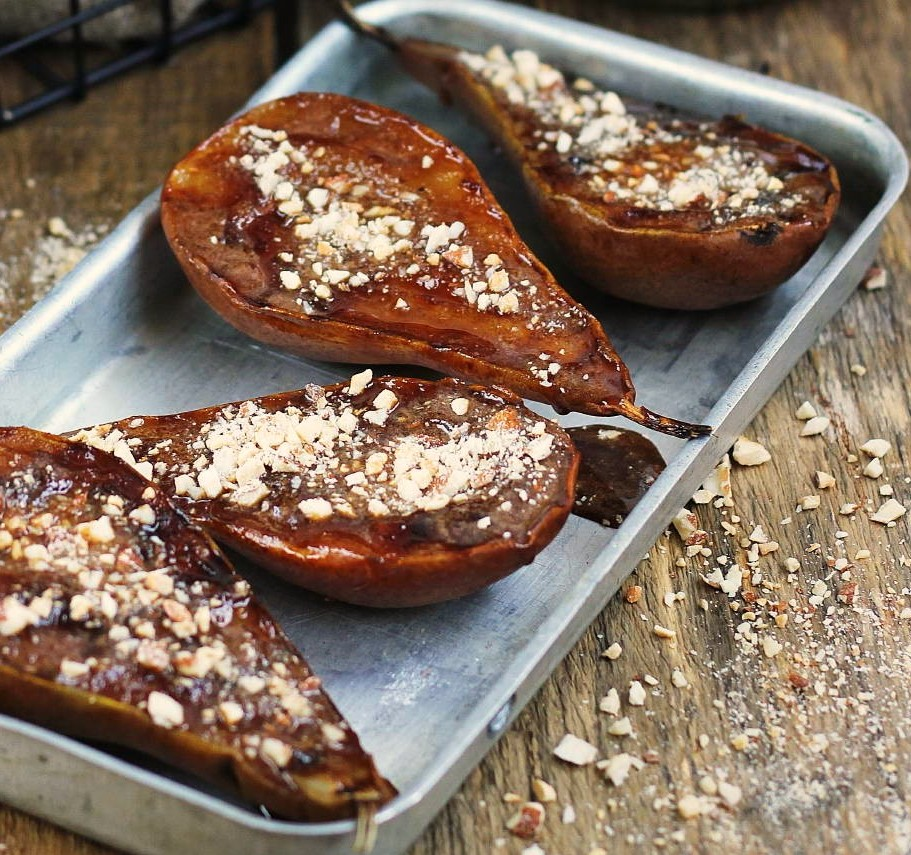 Grilled Honey Pears Photo 1