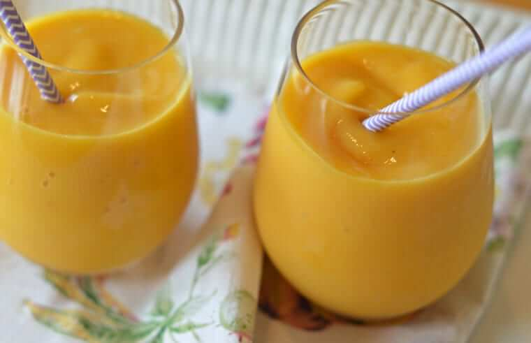 Peach Mango Smoothies Photo 1