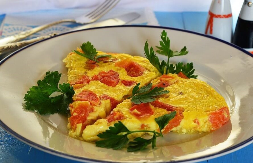 Healthy Omelette  with Vegetables