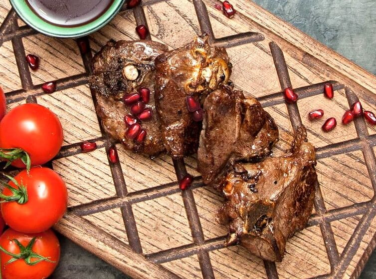 Perfect Easter Lamb with Pomegranate Juice