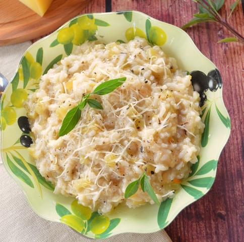 Risotto with Baked Sweet Pepper
