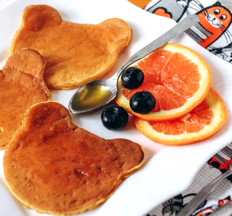 Healthy Carrot Pancakes for Kids