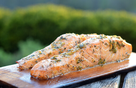 Cedar Planked Salmon Photo 1