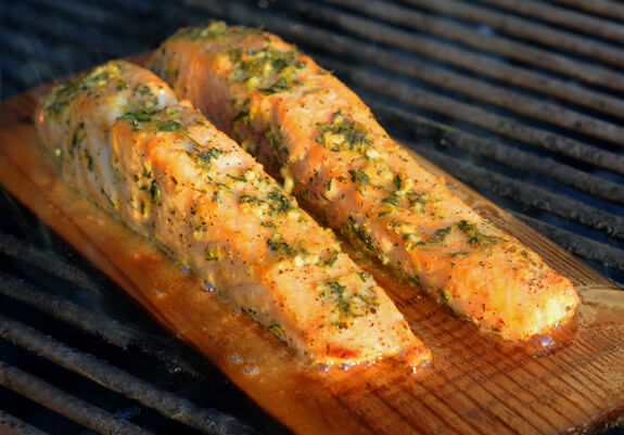 Cedar Planked Salmon Photo 5
