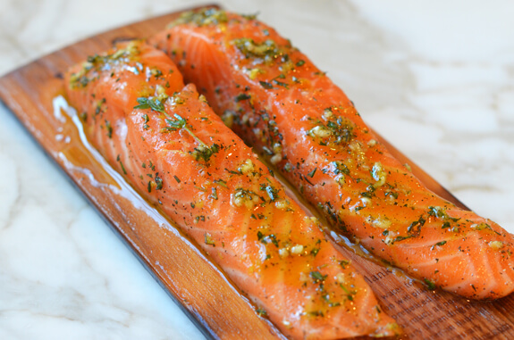 Cedar Planked Salmon Photo 4