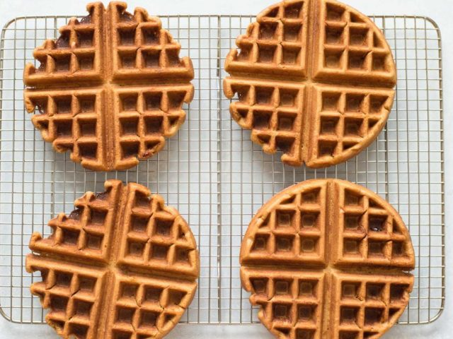 Gingerbread Waffles Photo 6