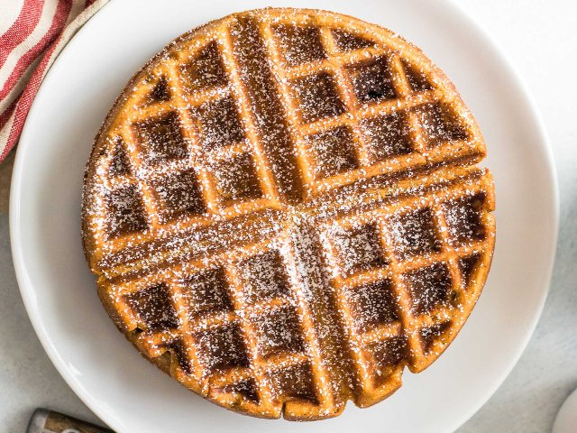 Gingerbread Waffles Photo 1