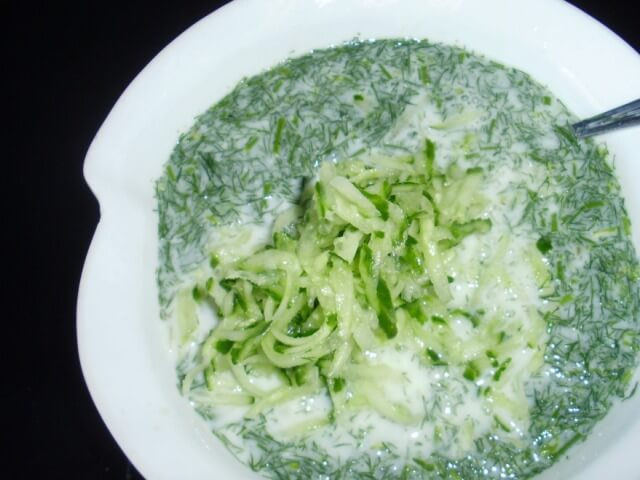 Cold Bulgarian Soup Photo 3