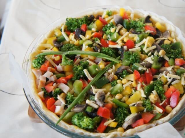 Vegetable Quiche Photo 9