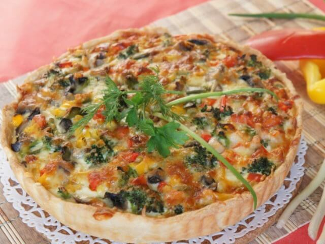 Vegetable Quiche Photo 12