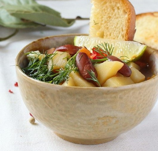 Soup with Beans  in a Slow Cooker Photo 7