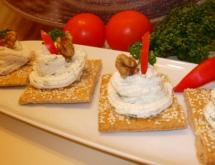Brynza Pate with Garlic and Walnuts