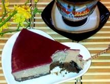 Chocolate and Cherry Cheesecake