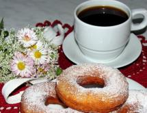 donuts with ricotta
