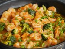 Sweet & Sour Shrimp With Broccoli