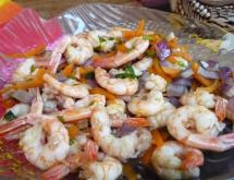 Shrimp Bordelaise