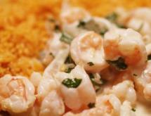 tequila shrimp with orzo