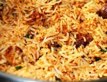 Indian Vegetarian Rice Recipe - Vangi Bhath