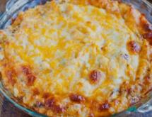 Taco Dip with Cottage Cheese
