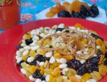 Bean Salad with Dried Fruit