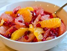 Citrus and Pomegranate Fruit Salad