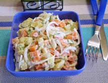 Potato Salad with Carrot