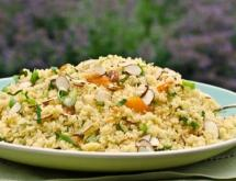 Couscous Salad with Apricot Vinaigrette