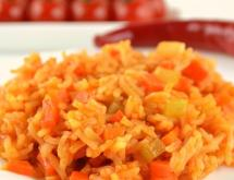 Healthy Rice with Carrots and Celery