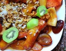 Vegan dessert - Fruit Pilaff