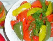 Instantly Marinated Bell Pepper