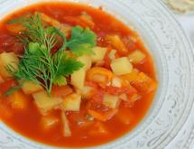 Vegetarian Goulash Soup