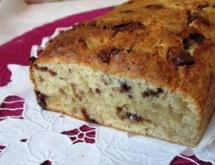 Banana Bread with Ginger and Chocolate