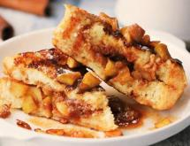 French Toast with Apple Filling
