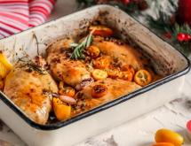 Baked Chicken Breast in Citrus Marinade