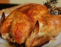 Whole Chicken Baked in a Slow Cooker