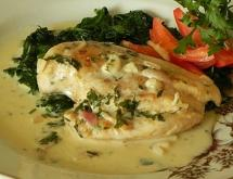 Chicken Breast with Wine Sauce