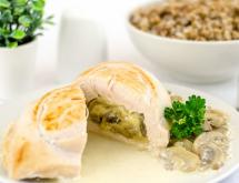 Chicken Breasts Stuffed with Mushrooms