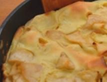 German Pancake with Apples