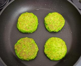 step 4 Healthy Green Pea Fritters