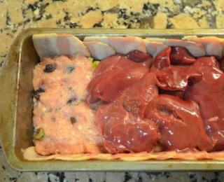 pork terrine with chicken liver