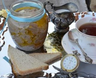 Yorkshire Meat Pate in the Slow Cooker