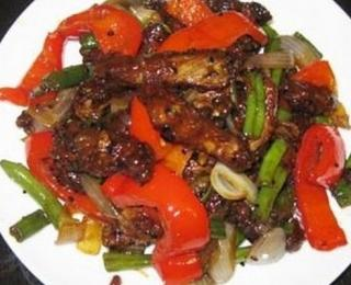 Hot Beef with Bell Pepper