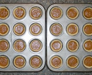 mini tarts with maple butter