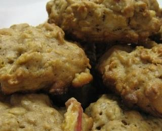 Oatflakes Cookies with Apple
