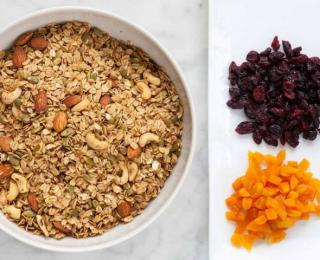 holiday spice granola